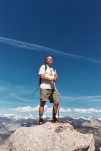 Jeff on Sentinel Dome
