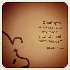 Goodbyes Make My Throat Hurt