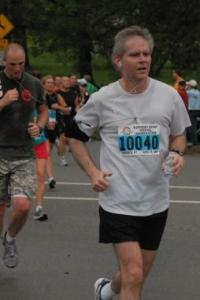 me running a half-marathon several years ago
