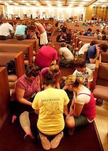 Millennials Worshipping