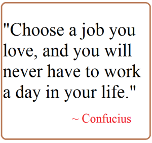 attitude on choosing a job